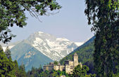 Medieval Castle in South Tyrol — Stock Photo