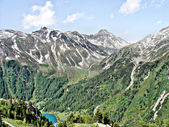 The south face of Zillertal Alps — Stock Photo