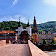 Panorama of Heidelberg, Germany — Stock Photo
