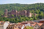 Ruinas del castillo de heidelberg — Foto de Stock