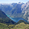 The Lake Koenigssee — Stock Photo