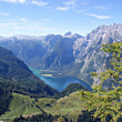 The Koenigssee, Germany — Foto Stock