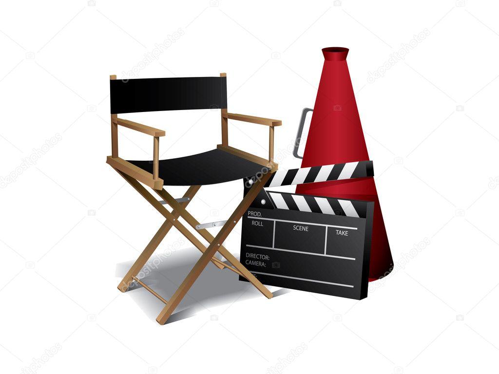Directors chair vector - Movie Director Chair Stock Vector 169 Graphit 5954197