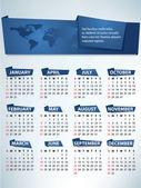 Calendar for 2012 vector — Stock Vector