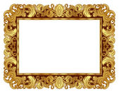 Golden frame — Stock Vector