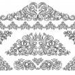 Decorative elements set — Stock Vector