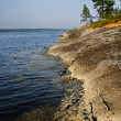 The Russian lake Ladoga — 图库照片