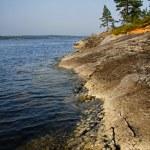 Rus ladoga Gölü — Stok fotoğraf