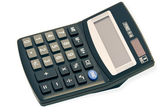 Big Black Calculator — Stock Photo