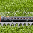 Lawn with Sprinkler — Stock Photo #5595901