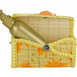 Royalty-Free Stock Photo: Open cosmetic bag.