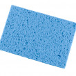 Blue rags for cleaning — Stock Photo