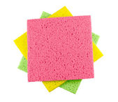 Color rags for cleaning — Stock Photo