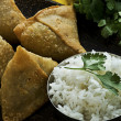 Royalty-Free Stock Photo: Samosa