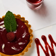 Raspberry Tart — Stock Photo #5540954