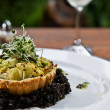 Stock Photo: Cauliflower Tart