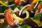 Healthy and fresh organic salad — Stock Photo