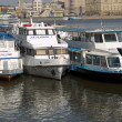 Steamboats on Moscow river - Stock Photo