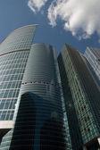 在莫斯科的城市的摩天大楼 — Stock fotografie