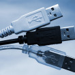 plugues USB — Foto Stock