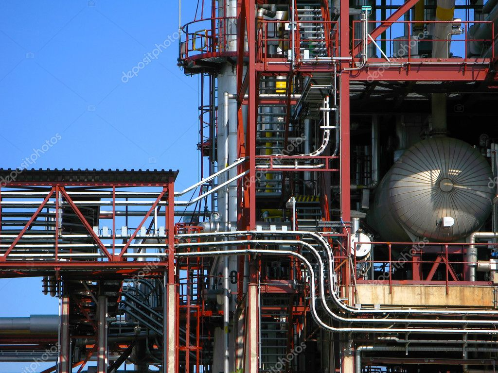 Refinery  Stock Photo #5719504