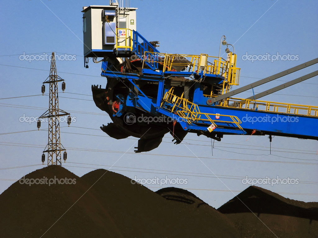 Coal mining — Stock Photo #5732248