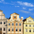 Old Prague houses - Stock fotografie