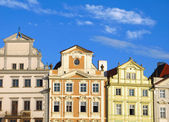 Old Prague houses — Stock Photo