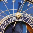 Astronomical clocks, Prague — Stock Photo
