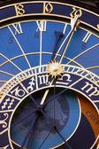 Astronomical clocks, Prague — Stock Photo