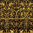 Golden lattice — Stock Photo #6210596