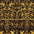 Royalty-Free Stock Photo: Golden lattice