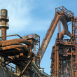 Steel plant - Stock Photo