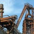 Stock Photo: Steel plant