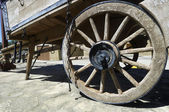 Wheel wagon — Stock Photo
