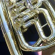 Tuba closeup — Stock Photo
