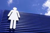 Woman sign — Stock Photo