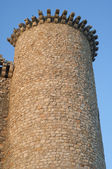 Tower of Torija Castle — Stock Photo