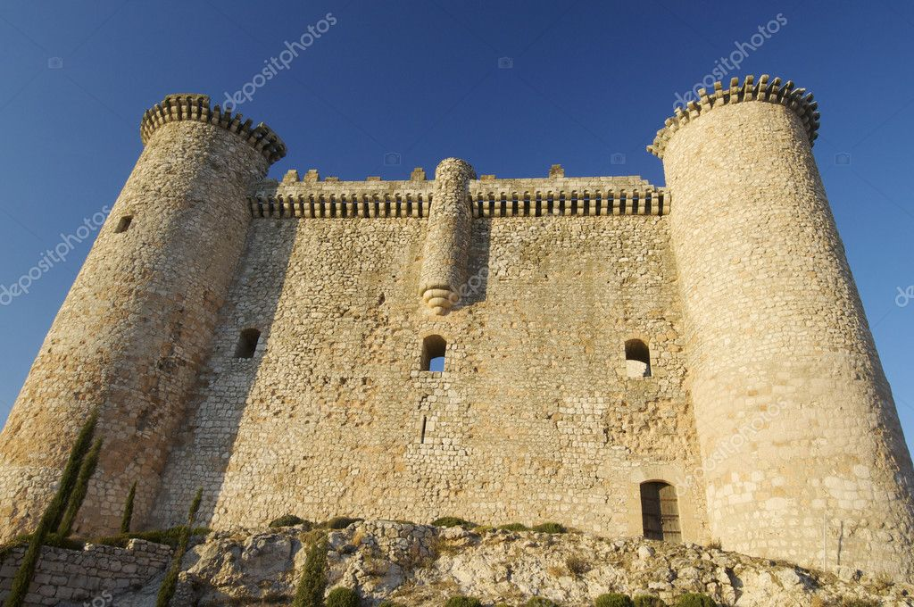 Torija Castle, Guadalajara, Castilla-La Mancha, Spain — Stock Photo #5494529