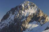 Snowy peak — Stock Photo