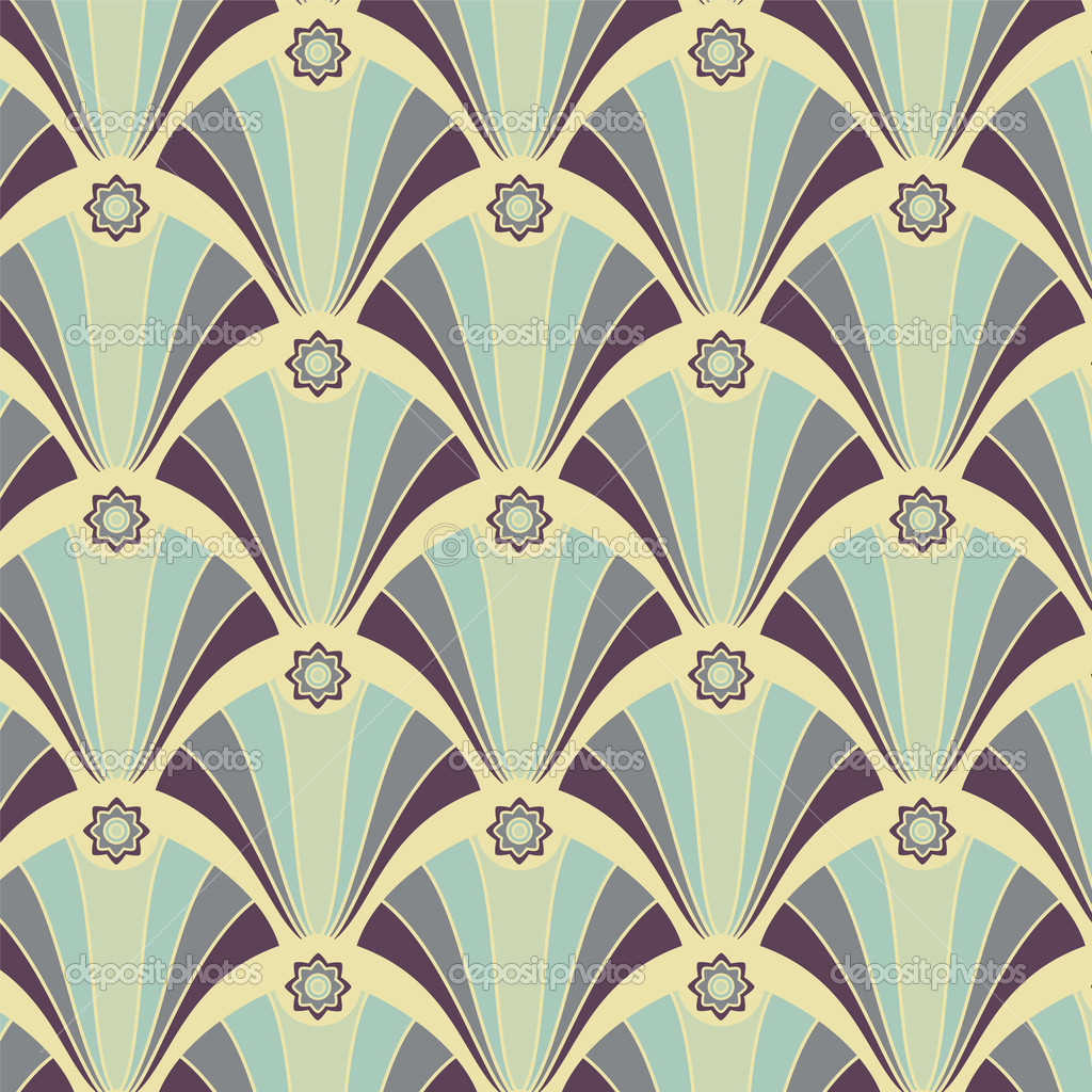Beautiful art deco design design graphic arts for Art deco patterns