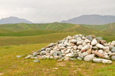 The stones in mountains. — Stock Photo