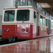 Stock Photo: Cog railway car