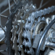 Stock Photo: Mountainbike detail
