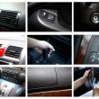 Stock Photo: Car interior details