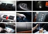 Car interior details — Stock Photo