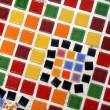 Mosaic colorful tiles — Stock fotografie