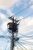Power lines — Zdjęcie stockowe