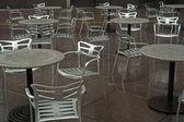 Silla del café — Foto de Stock