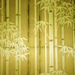 Stock Photo: Bamboo paper window